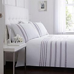 J by Jasper Conran - Designer lilac 'Maison' bed linen