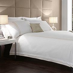J by Jasper Conran - Designer white 'Hotel Verona' bed linen