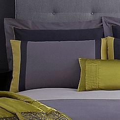 J by Jasper Conran - Blue 'Maddox' Oxford pillow case pair