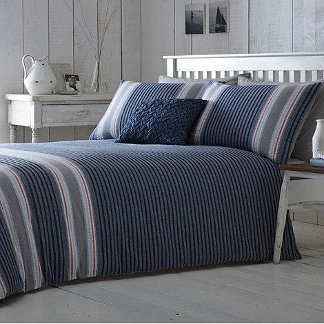 J by Jasper Conran - Jasper Conran blue +Tamerton+ bed linen