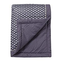 J by Jasper Conran - Designer purple 'Grosvenor' bed runner