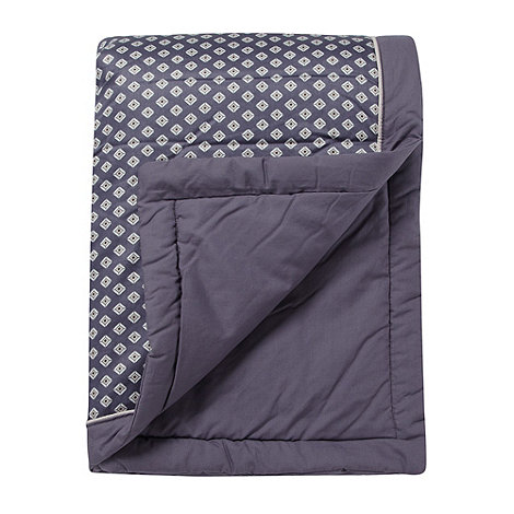 J by Jasper Conran - Designer purple +Grosvenor+ bed runner