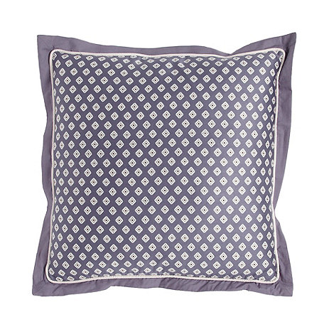 J by Jasper Conran - Designer purple +Grosvenor+ cushion
