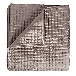 J by Jasper Conran - Light brown quilted bedspread