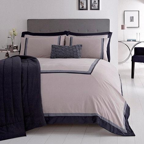 J by Jasper Conran - Navy +Langdale+ bed linen