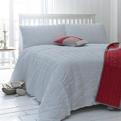 J by Jasper Conran - White +Salcombe+ bed linen