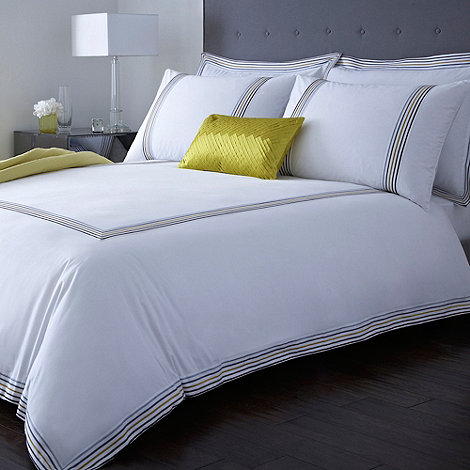 J by Jasper Conran - White +Pendley+ bed linen
