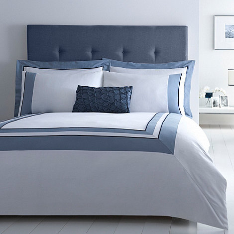 J by Jasper Conran - Blue +Medford+ bed linen