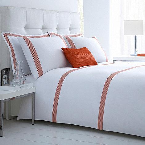 J by Jasper Conran - White +Belvedere+ bed linen
