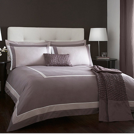 J by Jasper Conran - Lilac +Connaught+ bed linen