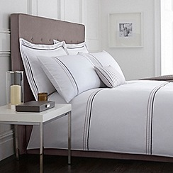 J by Jasper Conran - Natural 'Portland' bed linen