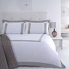 J by Jasper Conran - Natural 'Savoy' bed linen