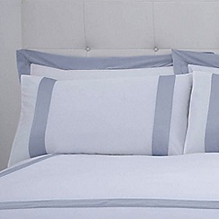 J by Jasper Conran - White 'Dorchester' 240 thread count pillow case pair