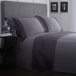 J by Jasper Conran - Grey 'Wardour' bed linen
