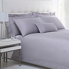 J by Jasper Conran - Designer lilac 'Richmond' cotton sateen bed linen