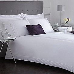 J by Jasper Conran - Designer white 'Headley' bed linen