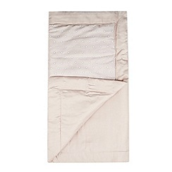 J by Jasper Conran - Designer pale pink 'Beaufort' bed runner