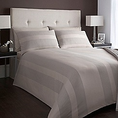 J by Jasper Conran - Designer natural 'Blake' bed linen