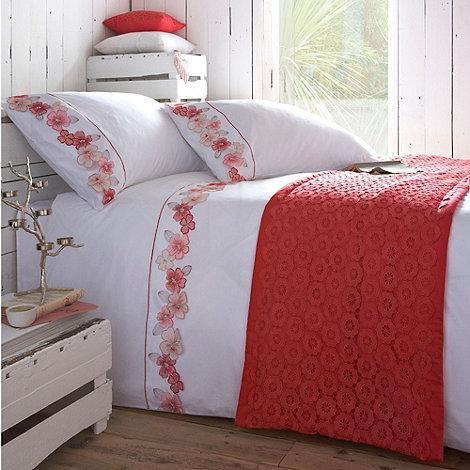 RJR.John Rocha - Pink +Indica+ bed linen