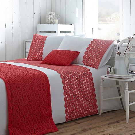 RJR.John Rocha - Coral +Hatha+ bed linen