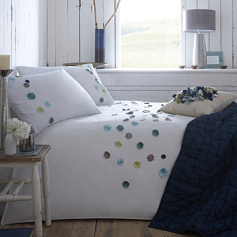 RJR.John Rocha - White +Natura+ bed linen