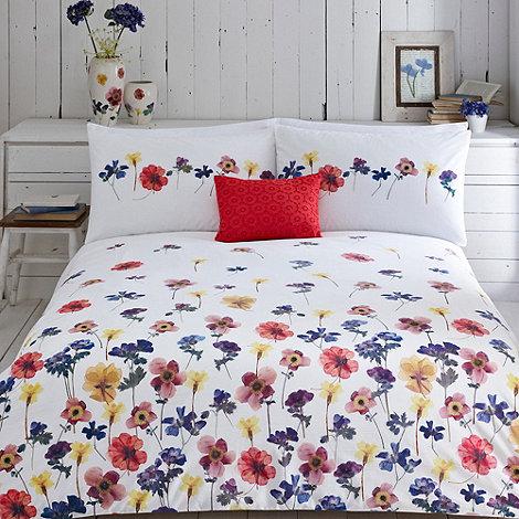 RJR.John Rocha - White +Orissa+ bed linen