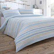 Blue 'Skye' bed linen