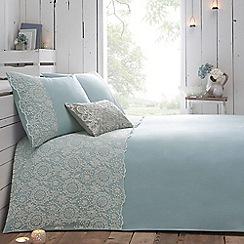 RJR.John Rocha - Blue 'Aurora' bed linen