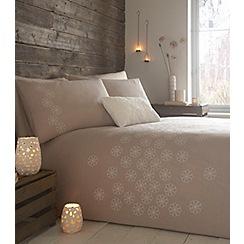 RJR.John Rocha - Cream 'Tranquility' bed linen