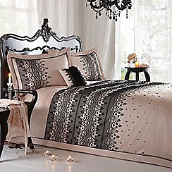 Star by Julien MacDonald - Natural 'Eleanor' bed linen