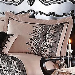Star by Julien Macdonald - Cream 'Eleanor' Oxford pillow case pair