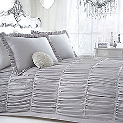 Star by Julien Macdonald - Designer silver 'Palermo' bed linen