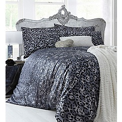 Star by Julien Macdonald - Grey 'Big Cat Little Cat' bed linen