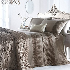 Star by Julien Macdonald - Gold 'Lace Print' bed linen