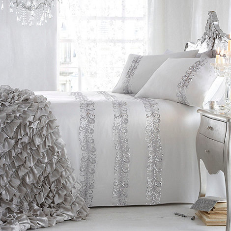 Star by Julien Macdonald - Ivory +Quill+ bed linen