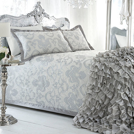 Star by Julien Macdonald - Ivory 'Gatsby' bed linen