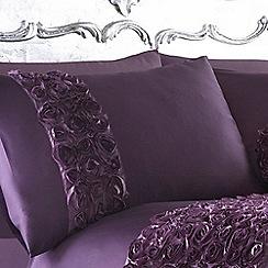 Star by Julien Macdonald - Purple 'Antoinette' pillow case pair