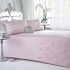 Star by Julien MacDonald - Designer pink 'Amore' bed linen