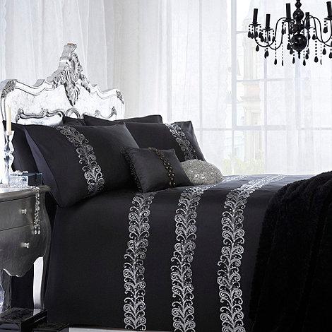 Star by Julien Macdonald - Black +Quill+ bed linen
