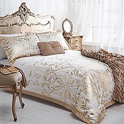 Star by Julien MacDonald - Julien MacDonald gold 'Deco' bed linen