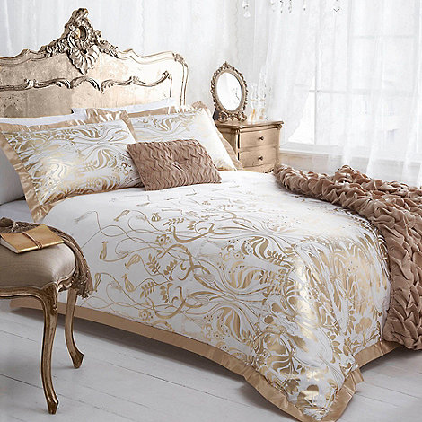 Star by Julien Macdonald - Julien MacDonald gold +Deco+ bed linen