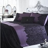 Julien MacDonald purple 'Chantelle' bed linen