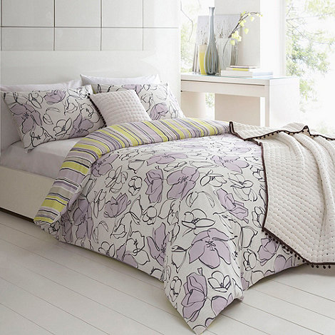 Betty Jackson.Black - Lilac +Melody+ bed linen