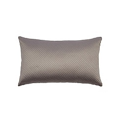 Betty Jackson.Black - Designer purple quilted cushion