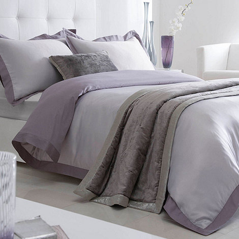 Betty Jackson.Black - Grey +Lucienne+ bed linen