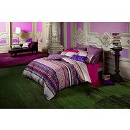 Purple 'Matai' bed linen