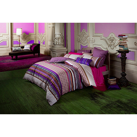 Kas - Purple +Matai+ bed linen