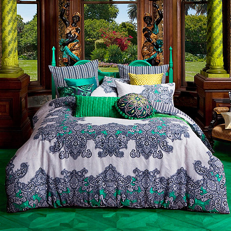 Kas - Dark blue +Frenti+ bed linen