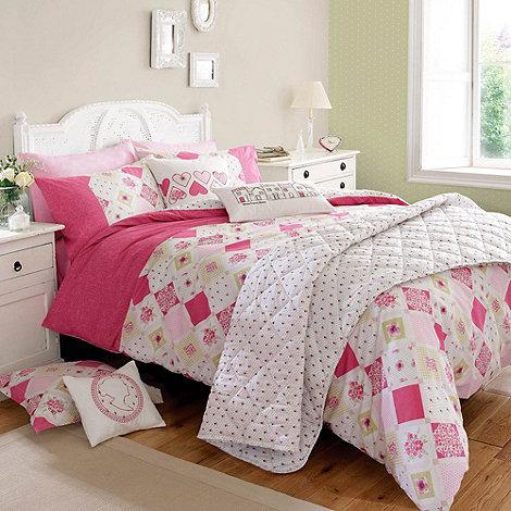 Kirsty Allsopp - Pink +Lottie+ bed linen