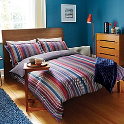 Harlequin - Red 'Array Stripe' bed linen